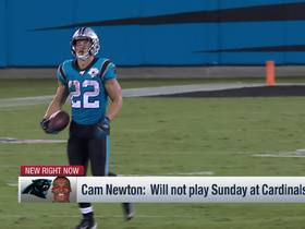 Watch: Cam Newton OUT vs. Cardinals, Kyle Allen to start