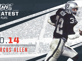 Watch: 'NFL 100 Greatest' No. 14: Marcus Allen's field-reversing TD in SBXVIII