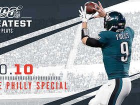 Watch: 'NFL 100 Greatest' No. 10: The Philly Special