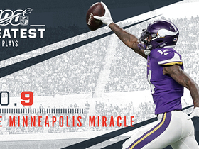 Watch: 'NFL 100 Greatest' No. 9: The Minneapolis Miracle