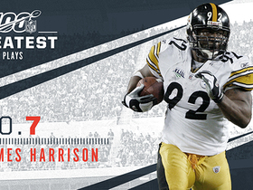 Watch: 'NFL 100 Greatest' No. 7: James Harrison's 100-yard pick-six in SBXLIII