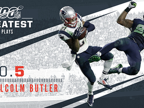 Watch: 'NFL 100 Greatest' No. 5: Malcolm Butler's goal-line INT in SBLIX