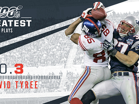 Watch: 'NFL 100 Greatest' No. 3: David Tyree's helmet catch