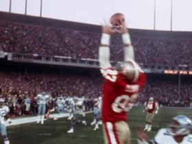 Watch: 'NFL 100 Greatest' No. 2: Dwight Clark snags 'The Catch' in 1981 NFC title game