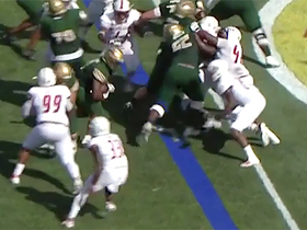 Watch: Spencer Brown forces his way into the end zone for second TD