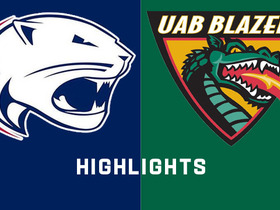 Watch: USA vs. UAB | Conference USA Football Highlights