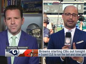 Watch: Garafolo: How Browns plan to 'slow' game down vs. Rams