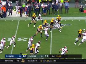 Watch: Jaire Alexander RIPS ball from Noah Fant for crazy turnover
