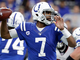 Watch: Jacoby Brissett drops 35-yard dime to Zach Pascal