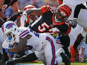 Watch: Frank Gore hammers in TD to give Bills a late lead