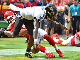 Watch: Can't-Miss Play: Action Jackson! Lamar's filthy open-field moves end in TD