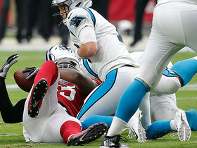 Watch: Chandler Jones overpowers lineman to force strip-sack fumble recovery