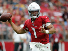 Watch: Kyler Murray throws bubble-screen TD to Larry Fitzgerald