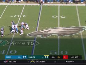 Watch: Rashaan Melvin disrupts Wentz's fourth-down deep ball for Arcega-Whiteside