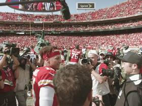 Watch: Mahomes-Jackson meet on field after Week 3 matchup
