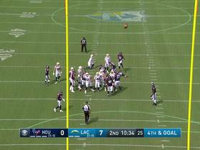 Watch: Ty Long knocks in 34-yard FG