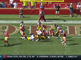 Watch: Jeff Wilson's 1-yard TD plunge gives 49ers first lead of the game