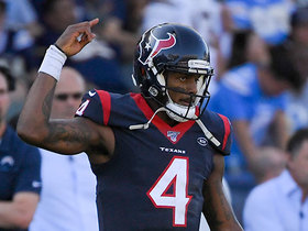 Watch: Watson rips TD throw down the seam to Akins to give Texans the lead