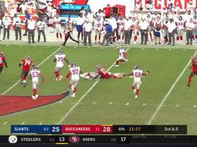 Watch: Ryan Connelly intercepts Jameis Winston's pass for clutch turnover