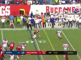 Watch: Giants' defense puts stop to Bucs' third-down attempt