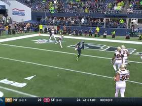 Watch: Russell Wilson takes off for second rushing TD of the day
