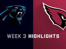 Watch: Panthers vs. Cardinals highlights | Week 3