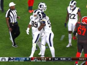 Watch: Aaron Donald swims by Joel Bitonio for big third-down TFL