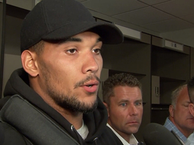 Watch: James Conner short on words after Steelers' 0-3 start