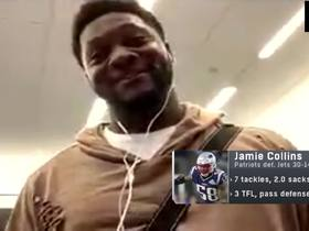 Watch: Why Jamie Collins wants the Patriots defense to stay under the radar