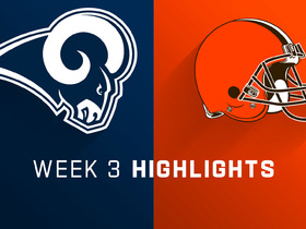 Watch: Rams vs. Browns highlights | Week 3