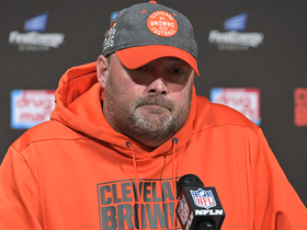 Watch: Freddie Kitchens second-guesses fourth-down play call