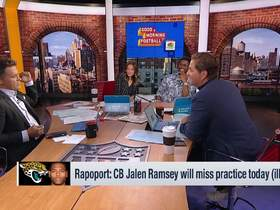 Watch: Rapoport: Jalen Ramsey to miss practice due to illness