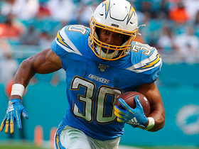 Watch: Austin Ekeler punches in second TD of day with 1-yard rush