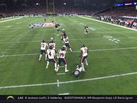 Watch: Nicholas Morrow in perfect spot to pick off Chase Daniel