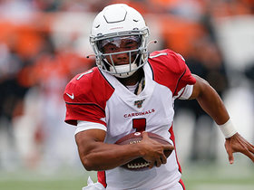 Watch: Kyler Murray shows his speed with 24-yard sprint