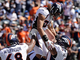 Watch: Phillip Lindsay displays nice cutback for TD