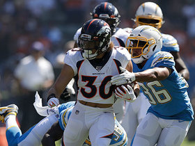 Watch: Phillip Lindsay sheds tacklers en route to 32-yard run