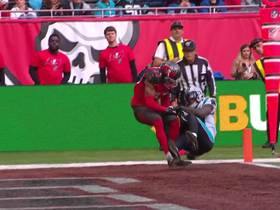 Watch: Can't-Miss Play: Curtis Samuel makes nifty adjustment for TD catch