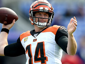 Watch: Dalton slings pinpoint back-shoulder pass to Auden Tate for first down