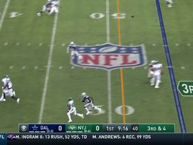 Watch: Darnold lofts pinpoint floater to Crowder for 24 yards