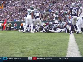 Watch: Le'Veon Bell scores first rushing TD as a Jet