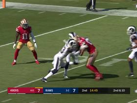 Watch: George of the Jungle! Kittle shows reckless abandon on 45-yard jaunt