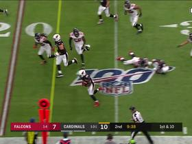 Watch: Chase Edmonds pinballs off defenders for 31-yard catch and run