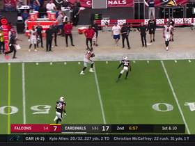 Watch: Flea-flicker alert! Falcons parlay trick play into 21-yard gain