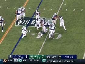 Watch: Jets smother Prescott in the backfield for huge fourth-down stop