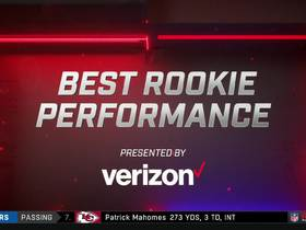 Watch: Best Rookie Performance | Week 6