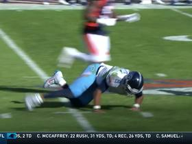 Watch: Cameraman loses sight of ball on Chris Harris Jr. INT