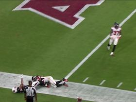 Watch: Murray finds Williams wide open in the flat for TD catch and run