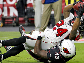 Watch: Devonta Freeman spins and stretches for TD after catch