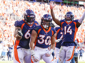 Watch: Phillip Lindsay marches in for first TD of the game